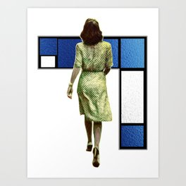 Woman In The City Art Print