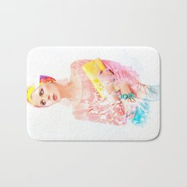 Once upon the garden Bath Mat
