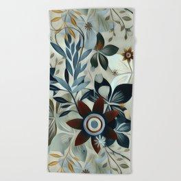 Florals Beach Towel