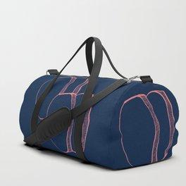 Abstract Quartz Duffle Bag