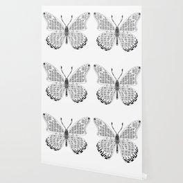 madame butterfly ecopop Wallpaper