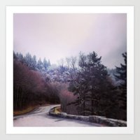 Winter On Top Art Print