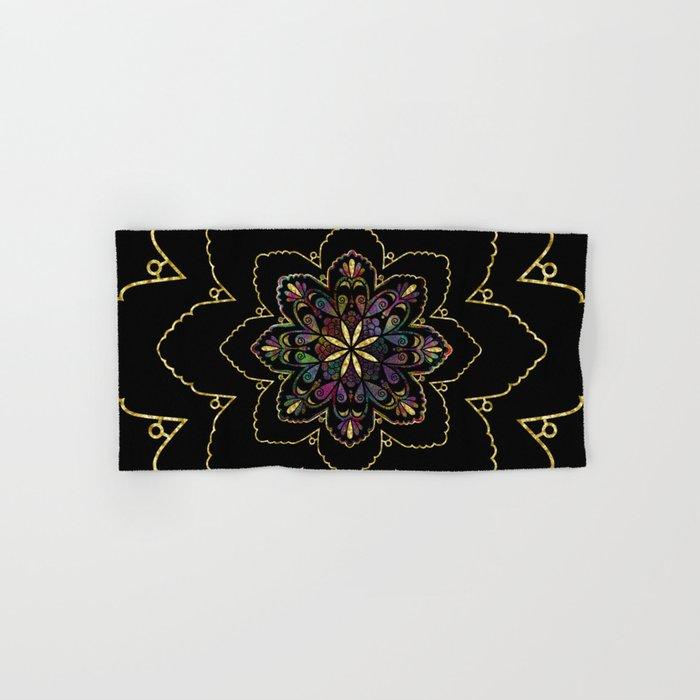 Mandala of Wishes Hand & Bath Towel