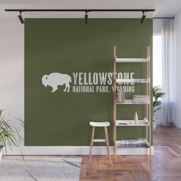 Bison: Yellowstone National Park Wall Mural