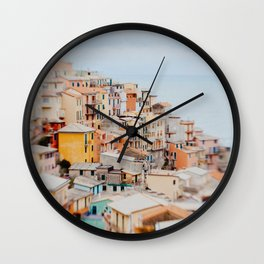 Manarola, Cinque Terre III Wall Clock