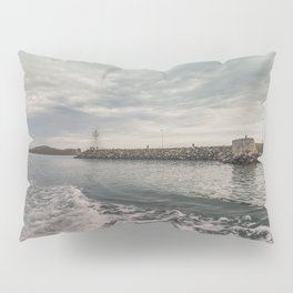 Boat trip in Howth, Ireland Pillow Sham