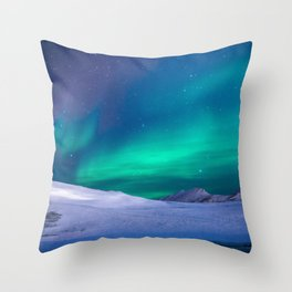 Aurora Borealis 1 Throw Pillow