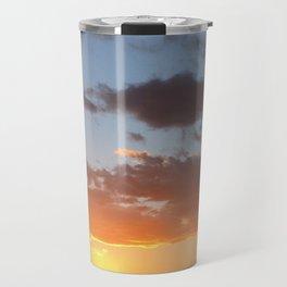 Desert Sunset in Ocotillo Wells California Travel Mug