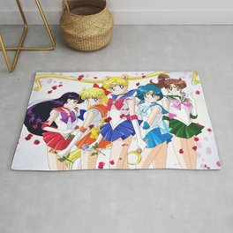 Sailor Moon 25th Rug