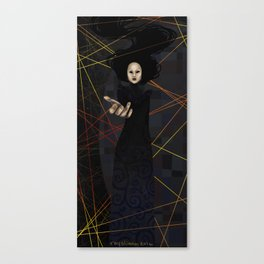 The Raven Queen Canvas Print