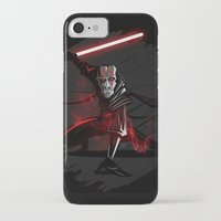 sith iPhone & iPod Cases featuring Sith Lord by Hunor L. Kovacs