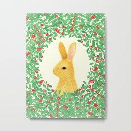 Lingon bunny Metal Print