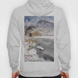 Frozen Lake Snowdonia Hoody