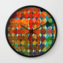 Abstract Composition 614 Wall Clock