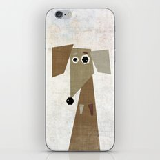Odd Dachshund  iPhone & iPod Skin