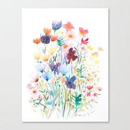 Botanic Floral 2 Canvas Print
