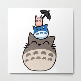 friend cat Metal Print