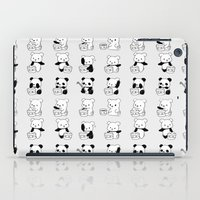 panda iPad Cases featuring Panda by ArtSchool