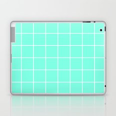 Mint Grid Laptop & iPad Skin