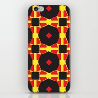 chad wys iPhone & iPod Skins featuring Anne-Lise in Chad by Marielle Loussot