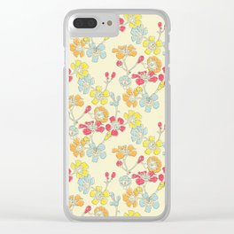 Geraldton Wax Flowers Clear iPhone Case
