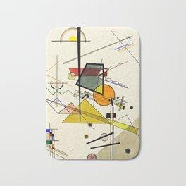Wassily Kandinsky - Melodisch Bath Mat