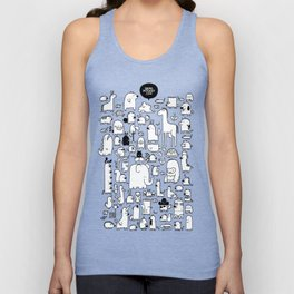 All the Beasts, Imagined and Real Unisex Tank Top