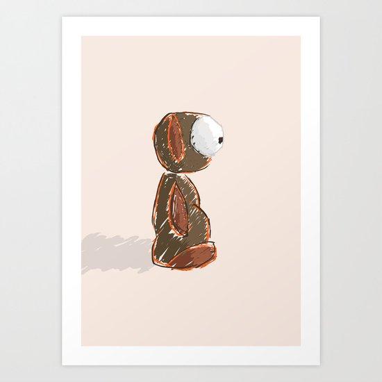Skyo Art Print