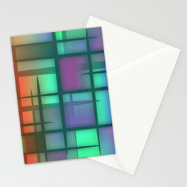 Abstract Design 6 Stationery Cards