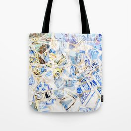 Mosaic of Barcelona I Tote Bag