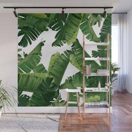 Banana Green Wall Mural