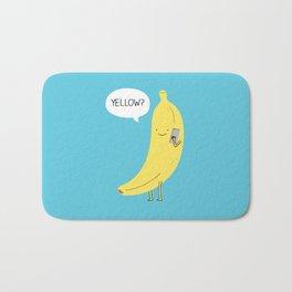 Banana on the phone Bath Mat