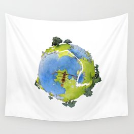 Yes World Wall Tapestry