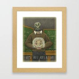 Einstein...Physicist, Scientist, ...Arquillian Framed Art Print