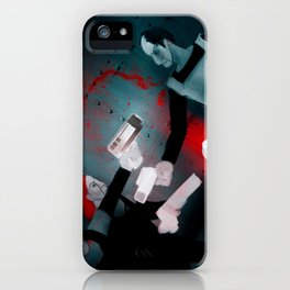 REBELS - Heavy Metal Thunder Artwork iPhone Case