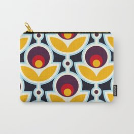 Midnight Primrose Carry-All Pouch