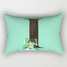 Isabelle & Times New Roman Rectangular Pillow