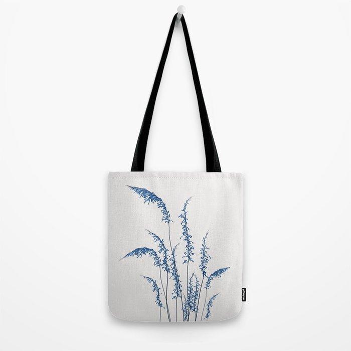 Blue flowers 2 Tote Bag