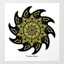 Sunny Mandala Art Print