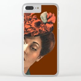 Happy? Thanksgiving Clear iPhone Case