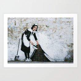 Banksy, Dirty Art Print