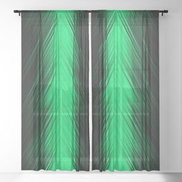 stripes wave pattern 8v1 dpi Sheer Curtain