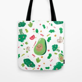 Veggy Pattern Tote Bag