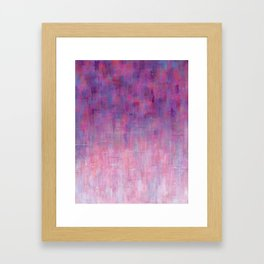 Warm Rain Framed Art Print