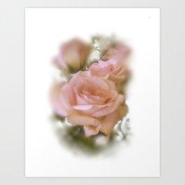 Love The Roses Art Print