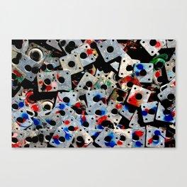 Scaffolding elements Canvas Print