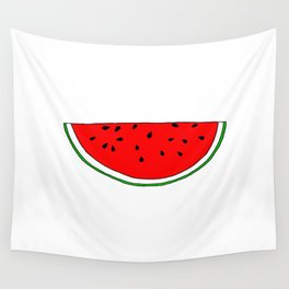 Watermelon vs Sandia Wall Tapestry