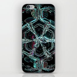 Caribbean in the Snow iPhone Skin