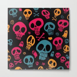 Esqueletos Metal Print