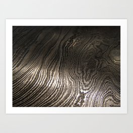 Damascus Steel Blade 3 Art Print